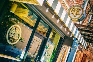 Storefront of OK Cafe Astoria